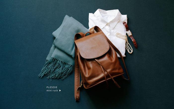 1965年創業の上質な革製品を作り出している「土屋鞄製造所」。