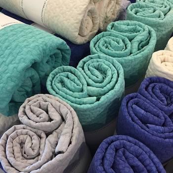韓国のお布団「イブル」もとっても素敵な色合いのものばかり。