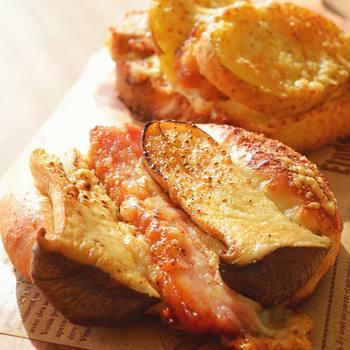 具沢山の食事パンも種類が豊富で、どれもお洒落で美味しくて目移りしてしまいます。