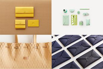 カードボードのように表面に凹凸をつけたものや、梱包資材を模したものなど、カラーやデザインも豊富にラインナップされています。