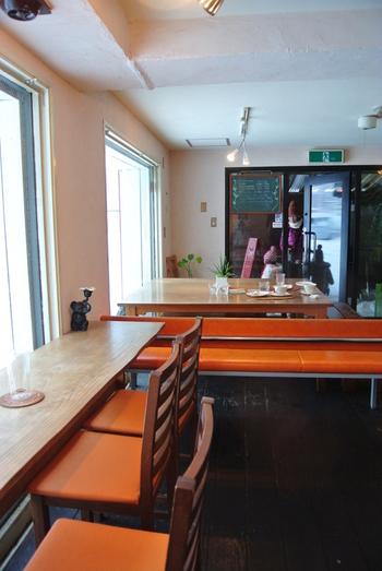 オーガニックカフェ、「青い空流れる雲」。化学調味料や添加物を排除し、100%植物性素材を使用したお料理を提供してくれるお店です。