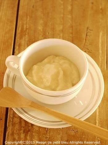 作り方も、水切りしたお豆腐をフードプロセッサーなどでクリーム状にするだけなので、簡単にできちゃいます!