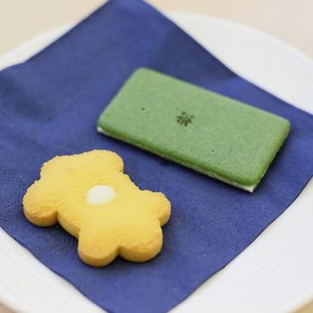 「京」の形をした京サブレも人気商品です。季節限定の味も出てるのでチェックして下さいね♪