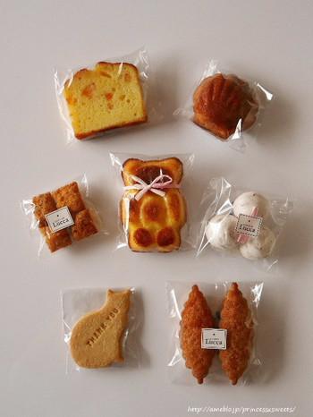 人気のガトーバスクや、リボンでおめかししたくまさんのメープルマドレーヌなど、ついつい欲しくなってしまうお菓子がいっぱい♡