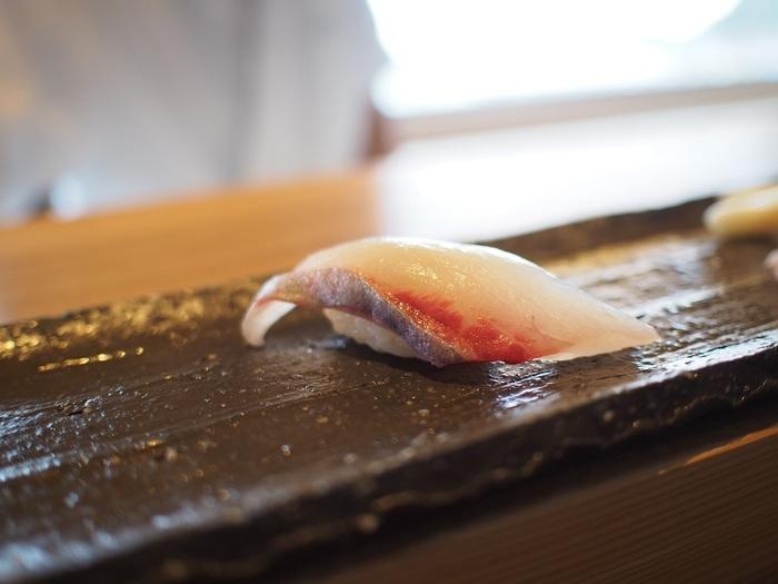 糸島の新鮮なお魚はもちろん、野菜のお鮨もとっても美味しいのでおすすめです。特別な日に訪れたいですね♪
