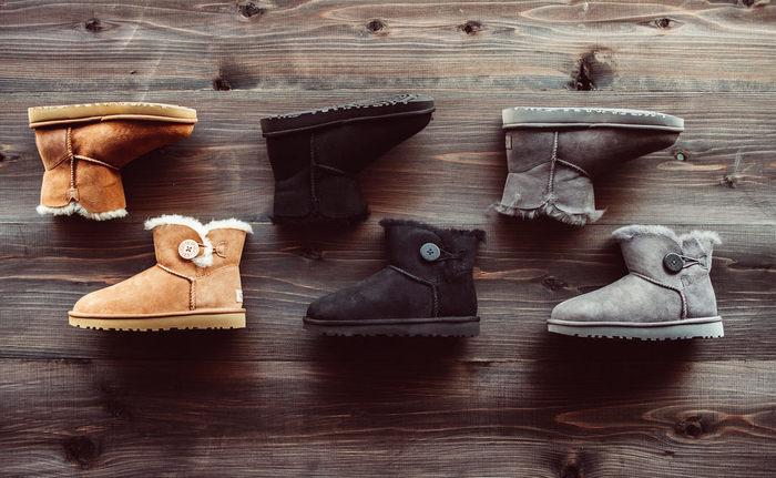 冬の足元のもはや定番となってきているムートンブーツ。年々デザインやカラーも豊富になってきていますよね♪
