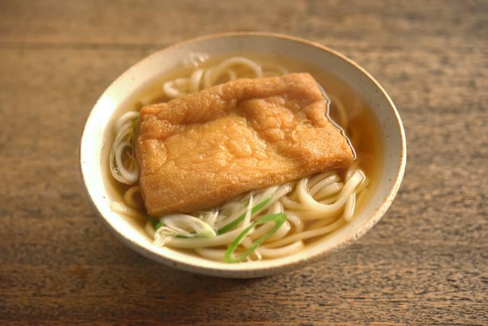 【連載】冨田ただすけさんの「旬の献立」  Vol.2-素朴な庶民食『きつねうどん』と、冬の常備菜