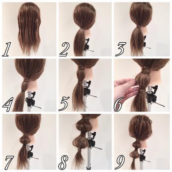 とっても簡単なのにキュート♡キャンディ?玉ねぎ?のようなまとめ髪。個性的で簡単なアレンジヘアはぶきっちょさんにもおすすめです。