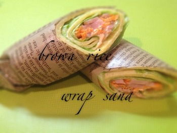 完全栄養食とも呼ばれる玄米粉をプラスして、ヘルシーなトルティーヤ生地に。