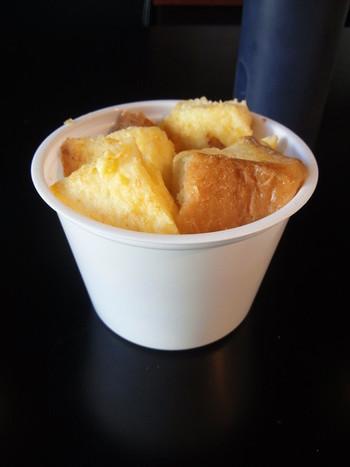 人気ナンバーワンはフレンチトースト「しげる」。 ふわふわで口の中でとろけます。