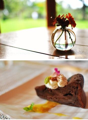 『ガトーショコラ』。 デコレーションケーキのオーダーや誕生日ケーキのサプライズにも応じくれます。