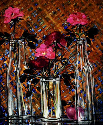 「3本のバラ」・・・3本のバラが美しいハーモニーを奏でます。