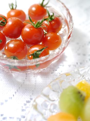 生でも美味しいミニトマト(プチトマト)ですが、火を通すことで旨味が凝縮し、栄養価がアップ!生の時より量もたくさん食べられます。