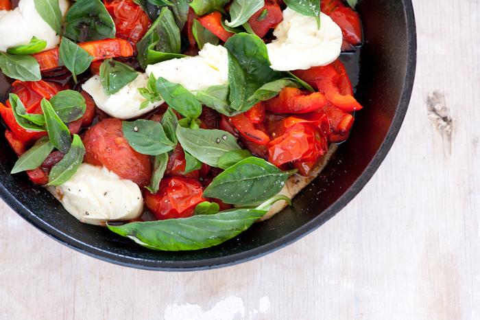 そして何より、火を通せばたくさんの量が食べられ、甘みや旨みもギュッと凝縮されますよね。ミニトマトやプチトマトを加熱することで、美味しく効率的に栄養が摂れるというワケです。