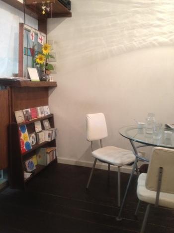オシャレなアートハウスやカフェのようなリラックス空間です。