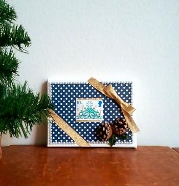 プレゼントのラッピングに添えても。季節感があふれ、ナチュラルで洗練された雰囲気に。