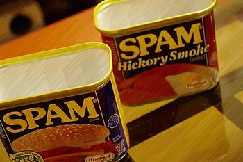 青い缶に黄色いロゴでおなじみの「SPAM(スパム)」。 保存がきく上に缶切りも不要。手間なく簡単に食べれるので、常備しておけばメニューに困った時の強い味方になります。