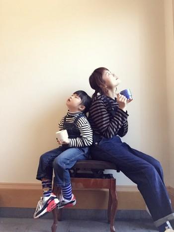 動きやすいポンプフューリーは、動き回る子供を追いかけるのにも便利。男の子のママにもお勧めのスニーカーです。