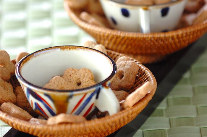 そばぼうろもそば粉があれば手作りすることができるんです☆三温糖の優しい甘さもポイント。お好みのお茶を合わせて味わってみましょう。