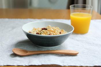 シンプルなデザインなので、朝食、夕食、、、ついつい出番が多くなりそう。
