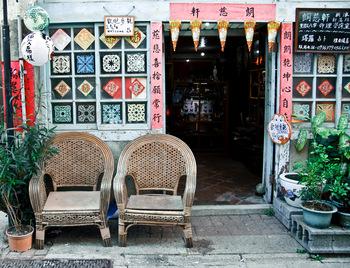 絵になる風景ばかりの神農街。カフェやショップに立ち寄りながら、のんびりと散策してみてください。