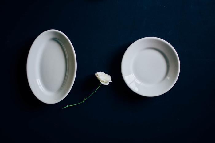 ヨーロッパのバルの定番食器。強くてシンプルな「サタルニア」のプレート