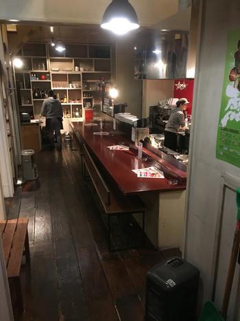すすきのにある一軒家のカフェ「sinner」。札幌のカフェの中でも老舗と言われるお店ですが、NYテイストの店内がとても可愛いと評判です。
