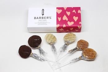 こちらは、バレンタイン限定のチョコレートと、男性に人気の「ゆず&ミント」「ソルト&バターキャラメル」がそれぞれ2本ずつ、計6本入ったセットです。パッケージもピンクにハート柄でとってもキュート。