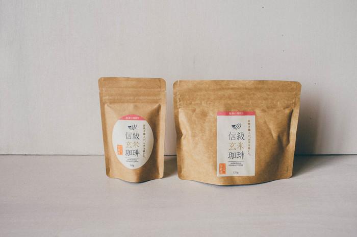 玄米の香ばしさを活かしたお茶やコーヒーは香り高く、心が満たされそうです♪