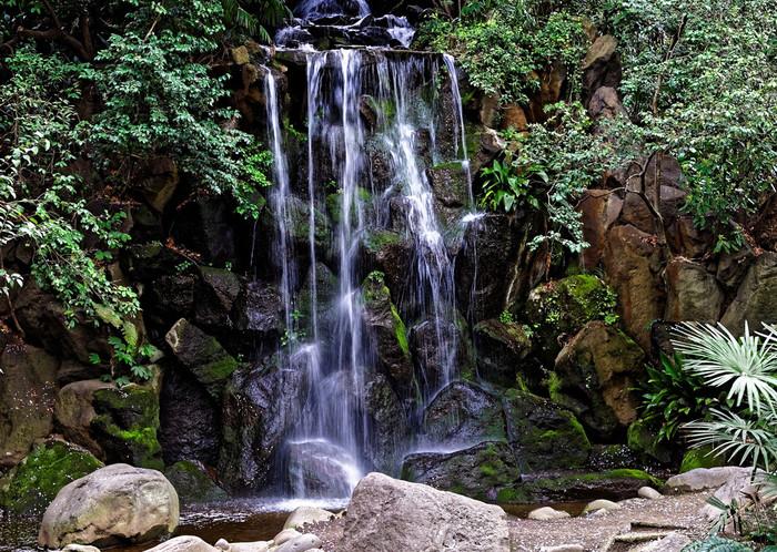 公園北側には、王子名主の滝公園があります。江戸時代の名主の屋敷跡で、人工的に造られた4つの滝をめぐる回遊式庭園は見事。元々個人の邸宅とは思えないほど広く、緑豊かな公園となっています。それにしても、王子駅前周辺は自然豊かなスポットが多いですね。