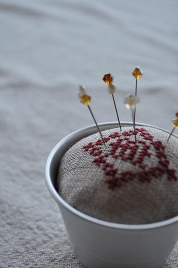 無心になってミシンに向かったり…チクチク針と糸で縫ってみたり…ほっこりと優しい時間が流れます♪