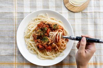 パスタとの相性抜群!普段の食事が、なんだか手の込んだ料理に見えちゃうかも。