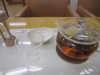 「キレイになりたいとき」「リラックスしたいとき」「むくみが気になるとき」など気分や状況に合わせて選べるブレンドティーが。『美麗茶(びれいちゃ)』『利楽茶(りらくちゃ)』『爽軽茶(そうかいちゃ)』などネーミングもユニークです。 (写真は「爽軽茶」)