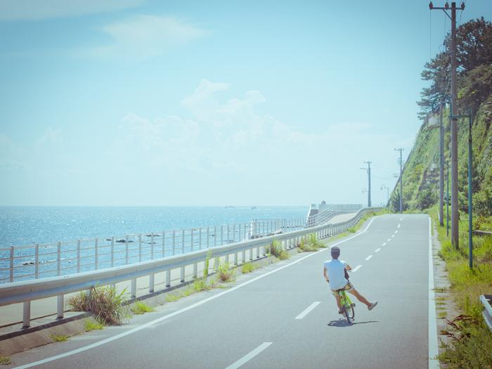 名古屋から一番近い島として人気の「日間賀島」。 サイクリングで訪れる旅行者が多い。 ゆっくり歩いても2時間あまりで回れます。
