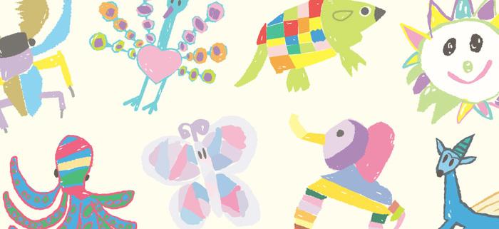 ことの起こりは2013年のこと。'子どもたちの今しか描けない特別な絵をずっと先の未来にも残していきたい'という思いから、この企画は始まりました。以来毎年テーマを決めて、そのテーマから子供たちが今しか描けない自由な発想で描いた作品を「土屋鞄製造所」は募集しています。