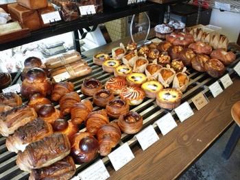 ブリオッシュなどの甘い系からおかずパンまで全部ハズレなしの美味しさ。
