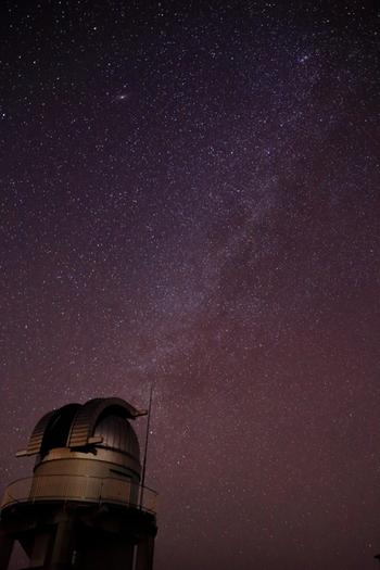 星が零れ落ちてきそうな、美星町の夜空。