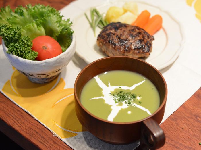 でも和食にも洋食にもぴったり合うポタージュがあったら、ちょっといいと思いませんか?食べ応えがあって、温まって、ご飯にもパンにも、もちろんパスタにも合う。そんな新しいスープをご紹介します。