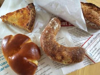 パリゼットのパンたちはすべて無添加、天然酵母。