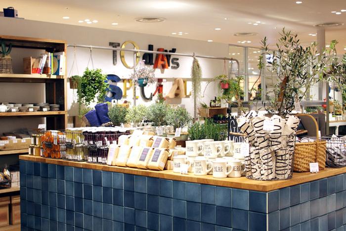 TODAY'S SPECIALは、雑貨やインテリア、食材、家具、アパレル等を扱っているライフスタイルショップです。