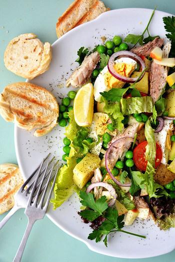 栄養たっぷり『パワーサラダ』で効率よく野菜をもりもり食べよう♪