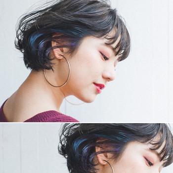 「リップラインヘアスタイル」でちょっぴり色気のあるショートスタイルを楽しもう♪