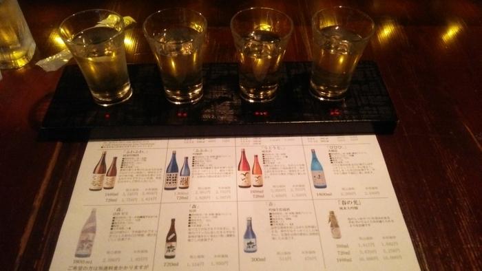 こちらでも日本酒の楽しみ方を教えてもらえます。 森國酒造のお酒は、湧水を使用して作られている小豆島のお酒です。