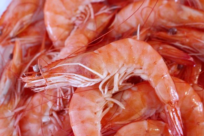 こちらも女子なら皆が好きな食材『エビ』。和洋中どんなレシピにもマッチする万能食材です。