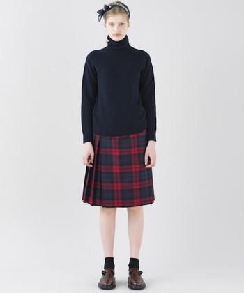 いくつになっても、心ときめく上質のスカートがあります…。