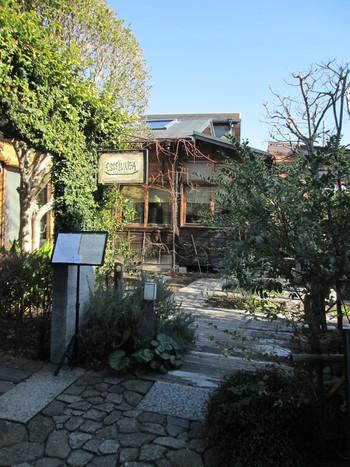 古民家を改築した「エッセルンガ」は、知る人ぞ知る人気のイタリアンレストラン。