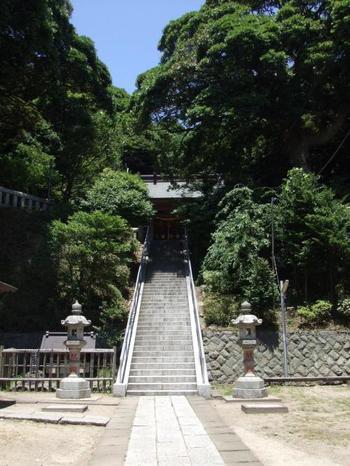 【画像は、長谷の鎮守「甘縄神明宮」。今記事では紹介しませんでしたが、「鎌倉文学館の近くにあります。】