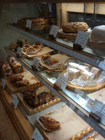 パンやケーキやクッキーは、お土産にもオススメです。