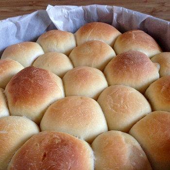 こんがり焼いたら、ちぎりパンの完成!