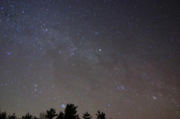 《美星町》夢が原の星空。